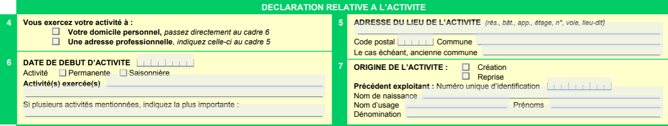 etape 2 LMNP formulaire P0i